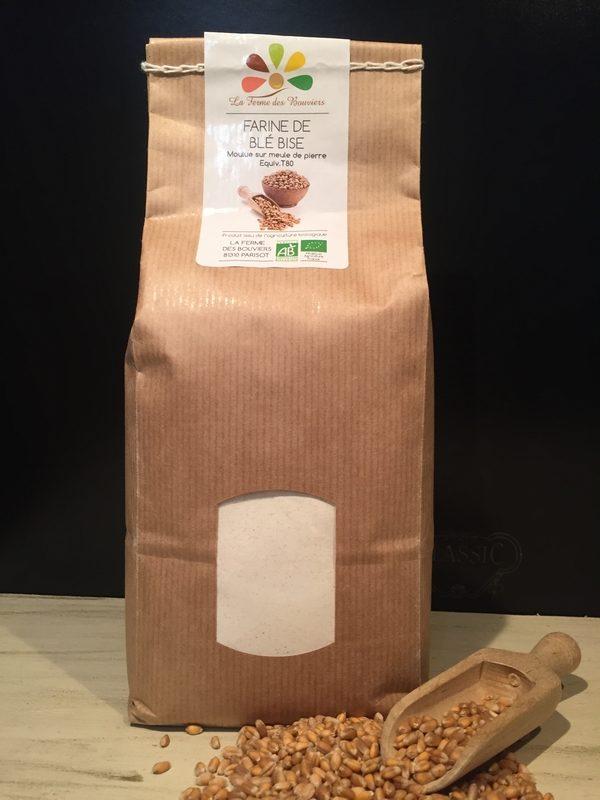 Farine de Blé Bise - La Ferme des Bouviers