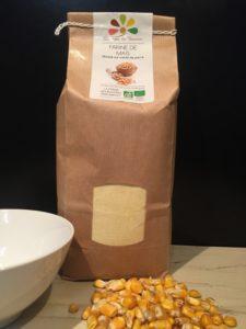 Farine de maïs BIO - La Ferme des Bouviers