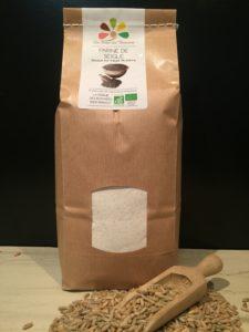 Farine de Seigle BIO - La Ferme des Bouviers