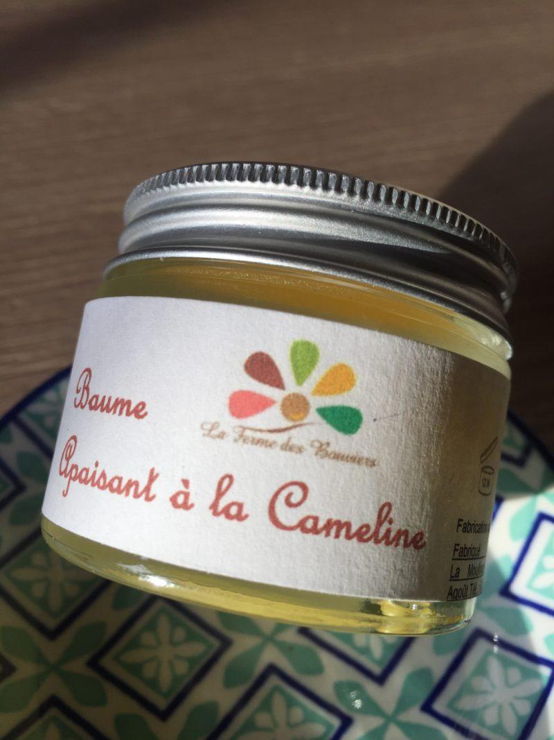 Baume apaisant à la Cameline - La Ferme des Bouviers