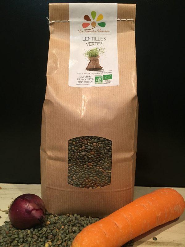 Lentilles Bio - La Ferme des Bouviers