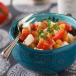 Salade de pois chiches avec huile de Colza - La Ferme des Bouviers - sur une idée de Libeluile