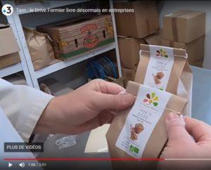 Farines étiquetage - La Ferme des Bouviers - France 3