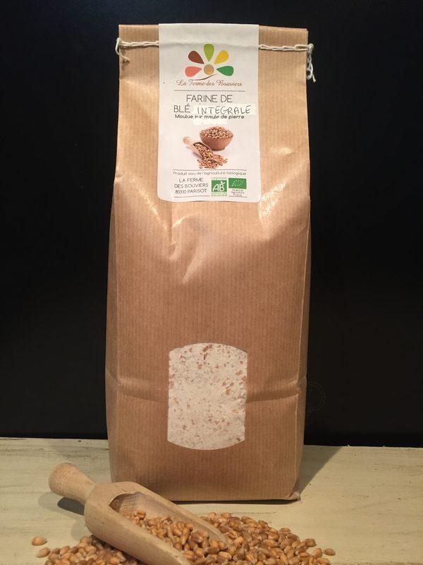 Farine de blé intégrale - La Ferme des Bouviers
