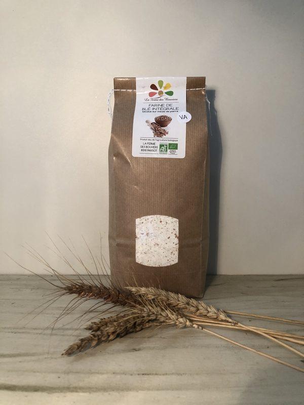 Farine Blé Intégrale VA - La Ferme des Bouviers