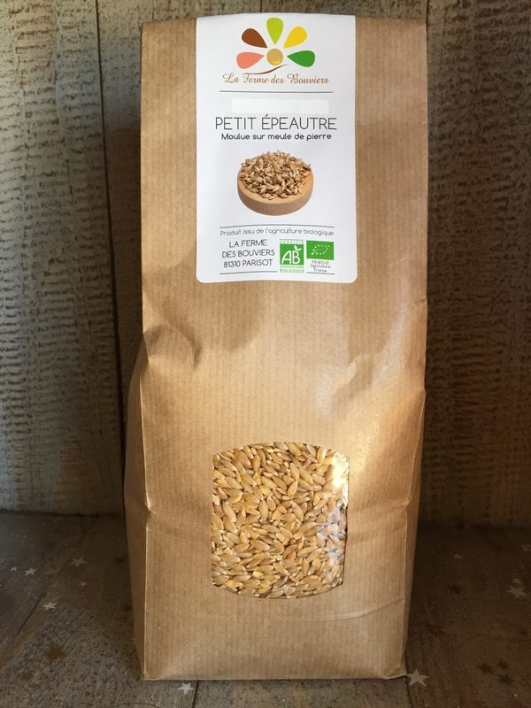 Petit épeautre graines - La Ferme des Bouviers