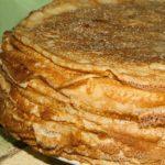 Crêpes à la farine de la Ferme des Bouviers