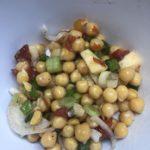 Salade de Pois Chiches façon Véro - La Ferme des Bouviers