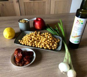 Ingrédients Salade de Pois Chiches façon Véro - La Ferme des Bouviers